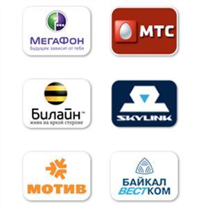 Операторы сотовой связи Пышмы